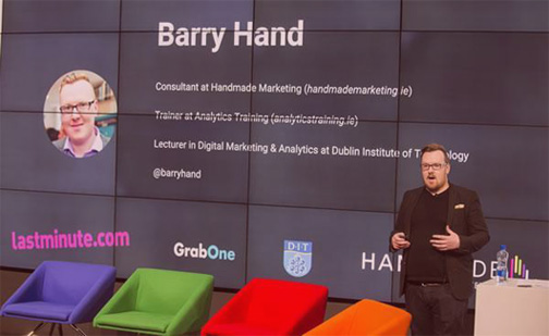 Your Speaker | Barry Hand, Data & Analytics Expert